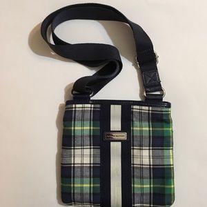 Tommy Hilfiger plaid purse blue crossbody bag girl